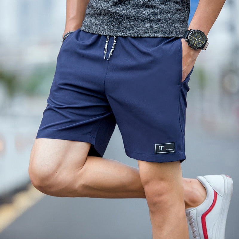 Mens Compression Shorts 4XL Mens Shorts Summer Shorts Homme Polyester Patchwork Short Pants High Waist Shorts Elastic Waist New - onlinedressstore