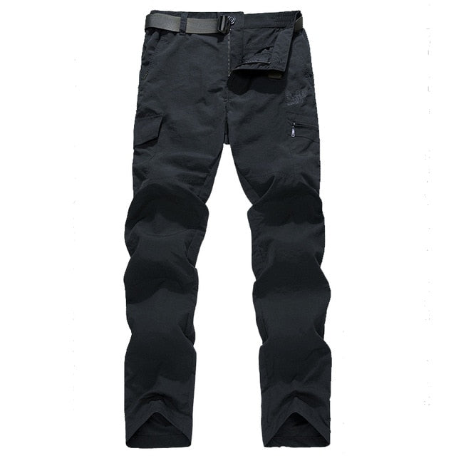 Men lightweight Breathable Quick Dry Pants Summer Casual Army Military Style Trousers Tactical Cargo Pants Waterproof Trousers - onlinedressstore