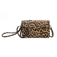 Load image into Gallery viewer, Leopard RFID Touch Screen Crossbody