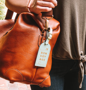 The Explorer's Circle - Lifestyle Luggage Tag