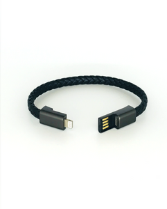 Cable USB/iPhone Bracelet - 9 inch Single Band