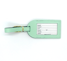 Load image into Gallery viewer, Made in USA Luggage Tag