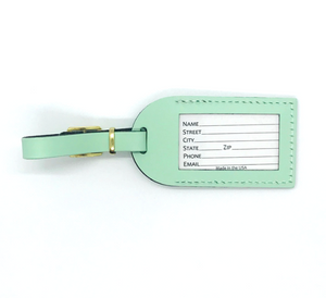 Made in USA Luggage Tag
