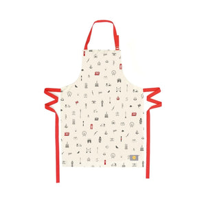 Adult Apron with London Icons