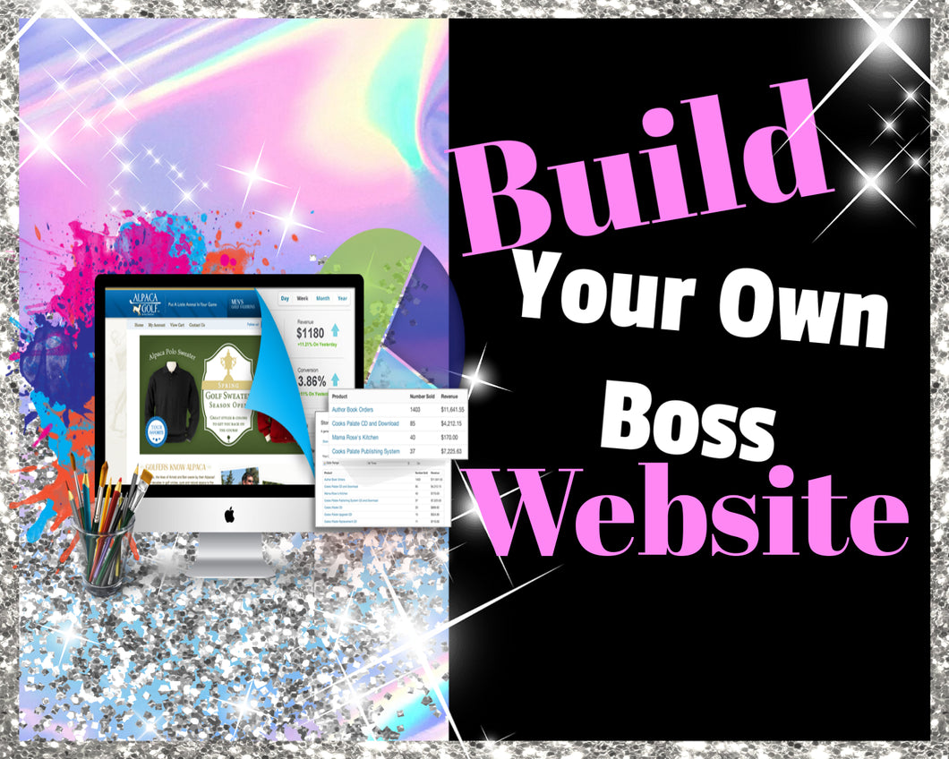 Build Your Own Boss Website