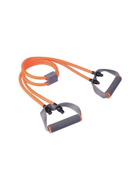 Fitness Gear - Dual Tubing Resistance Band - Orange - LadiesInn.pk