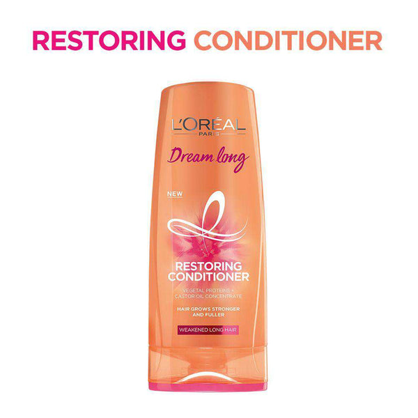 L'Oreal Hair Conditioner Dream Long Restoring Conditioner, 175Ml - LadiesInn.pk