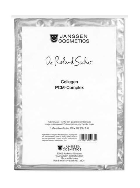 Janssen Dermacare Derma Fleece Collagen Mask - Sheet - LadiesInn.pk