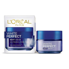 L'Oreal Moisturizers and Cream White Perfect Night Cream - LadiesInn.pk