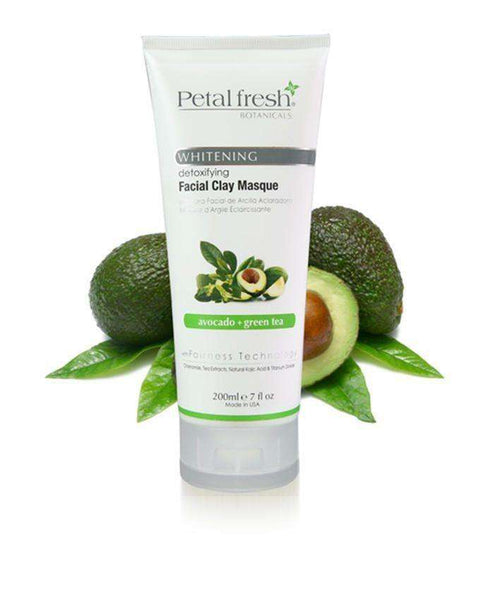 Petal Fresh Face Scrubs & Exfoliators Clay Mask - Avocado & Greem Tea -150Ml - LadiesInn.pk
