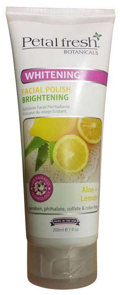 Petal Fresh Face Scrubs & Exfoliators Polish - Lemon & Aloe -150Ml - LadiesInn.pk