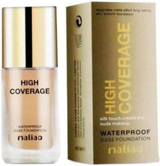 Maliao Waterproof Base Foundation -40ml - LadiesInn.pk