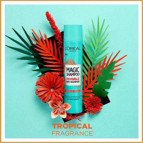 L'Oreal Hair Styling Magic Shampoo Invisible Dry-Tropical Splash L'Oreal Paris - LadiesInn.pk
