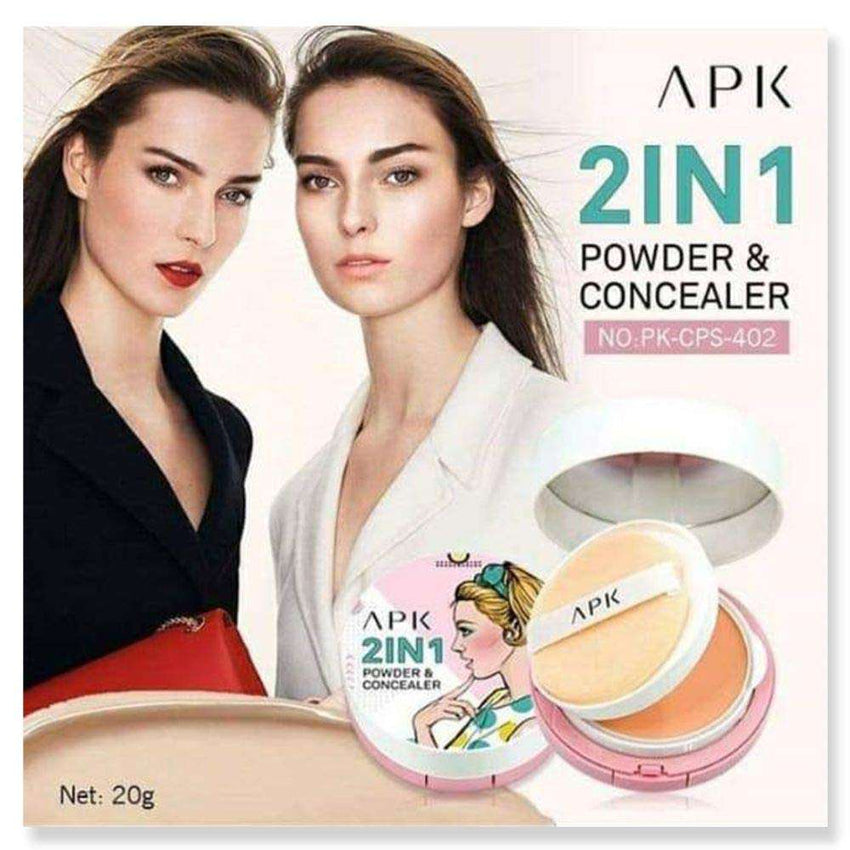 Apk Foundation 2-In-1 Foundation & Concealer - LadiesInn.pk