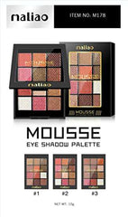Maliao 9 colours mousse eyeshadow-12g - LadiesInn.pk