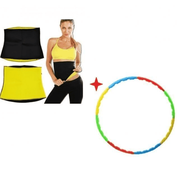 Hot Shaper Belt & Hula Hoop - LadiesInn.pk