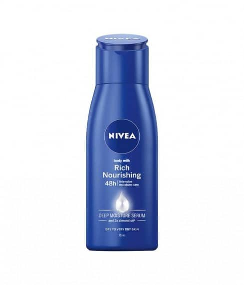 Nivea Rich Nourishing Body Lotion 75 ml - LadiesInn.pk