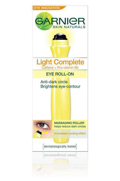 Garnier Eye Care Skin Naturals Light Complete Eye Roll On - LadiesInn.pk