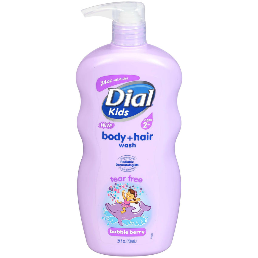 Dial Shampoo Bubble Berry Tear Free 24 Oz - LadiesInn.pk