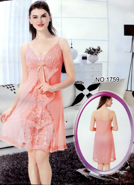 Short Nighty Wear Night Dress