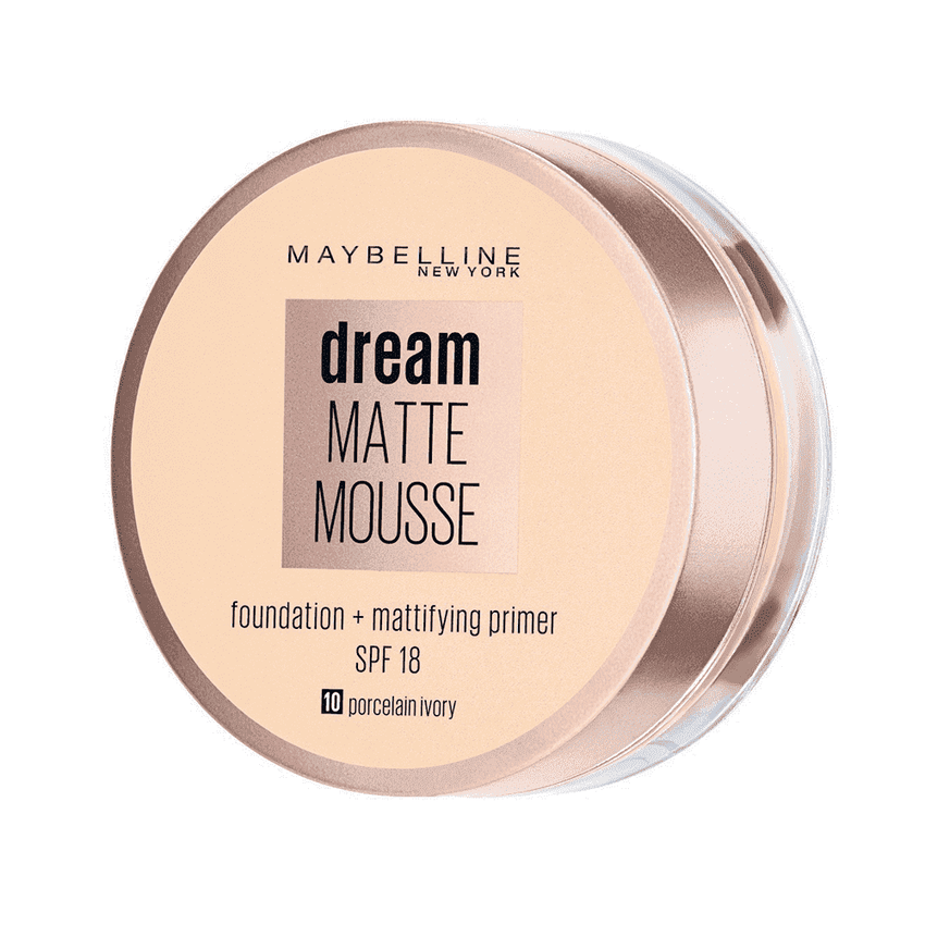 Maybelline Foundation & Primer Maybelline Dream Matte Mousse Foundation Spf18 - LadiesInn.pk