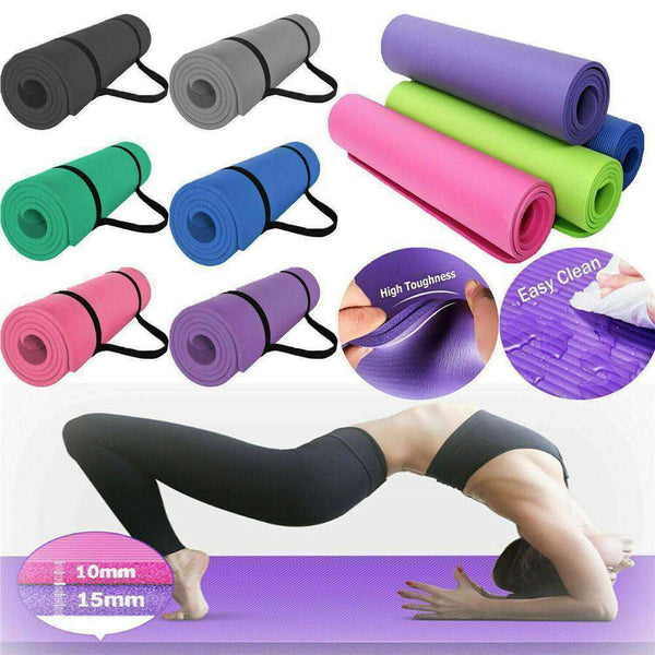 Fitness Solution Non-Slip Yoga Mat - LadiesInn.pk