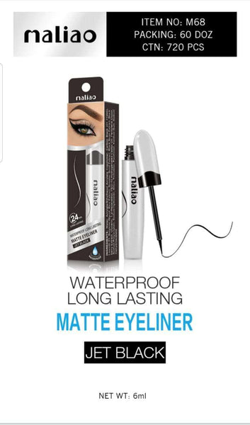 Maliao waterproof long lasting matte eyeliner-6ml - LadiesInn.pk