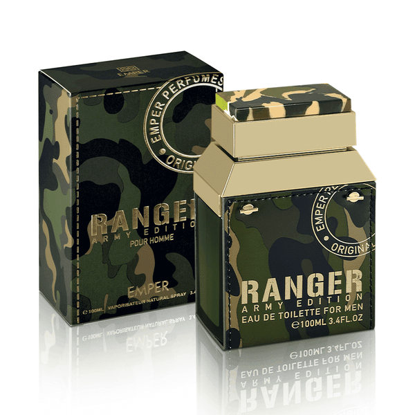 Emper Body Spray and Perfume Ranger Army 100Ml - LadiesInn.pk