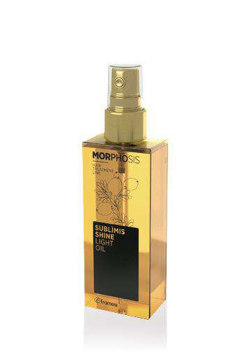 Framesi Hair Styling Morph-Sublims Shine Light Oil 125Ml - LadiesInn.pk