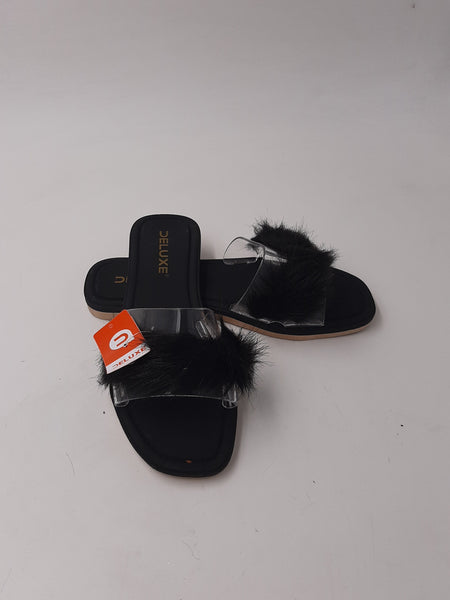 plastice women slippers