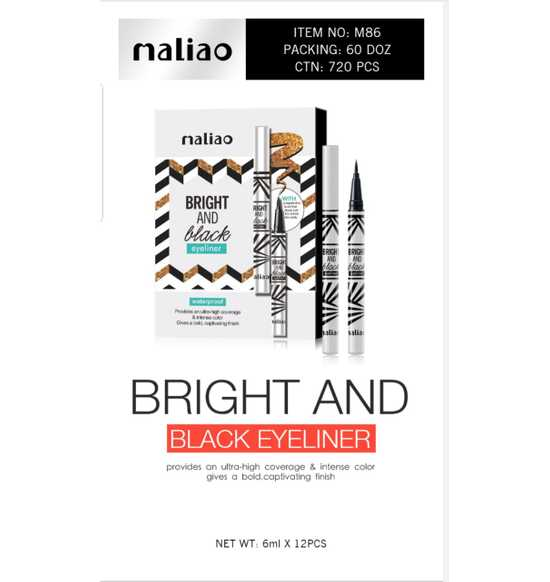 Maliao Bright & Black eyeliner-1.6ml - LadiesInn.pk