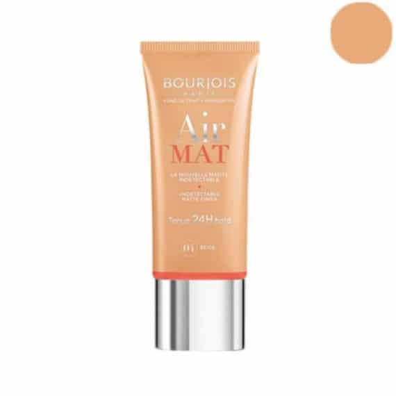 Bourjois Air Mat 24H Foundation - Beige - LadiesInn.pk