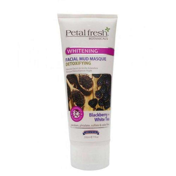 Petal Fresh Face Scrubs & Exfoliators Mud Masque Blackberry & White Tea - 150 Ml - LadiesInn.pk