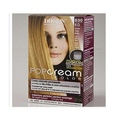 Dikson Hair Coloring 8D -Light Golden Blond 830 - LadiesInn.pk