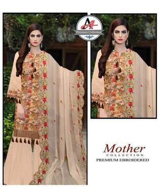 3 Piece Digital Lawn Suit With Embroidered Cutt Work Dupatta-35