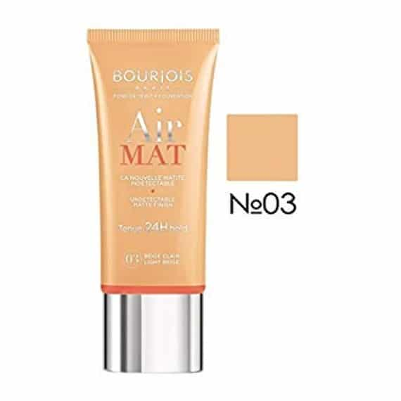 Bourjois Air Mat 24H Foundation - Light Beige - LadiesInn.pk