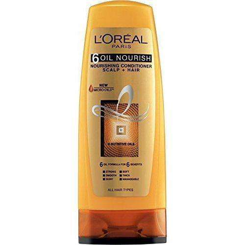 L'Oreal Hair Conditioner 6 Oil Nourish Conditioner - 175Ml - LadiesInn.pk
