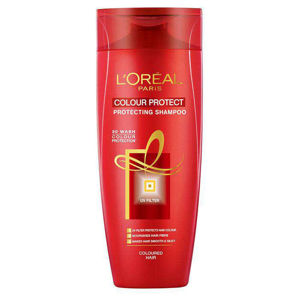 L'Oreal Shampoo Paris Colour Protect Protecting Shampoo, For Coloured Hair, 360Ml - LadiesInn.pk