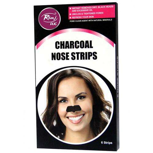 Rivaj Bath & Body Accessories Rivaj Charcoal Nose Strip - LadiesInn.pk