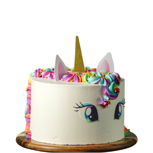 unicorn cake, rainbow Maine, girls birthday cake, easy cake kits perth
