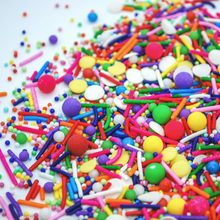 Load image into Gallery viewer, Pinata Sprinkle Mix, easy cake kits perth, rainbow sprinkle mix
