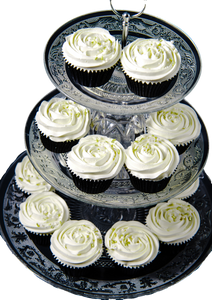 Vanilla Wedding Cupcakes
