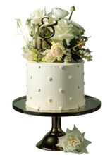 Load image into Gallery viewer, royal wedding cake, rustic wedding cake, vanilla buttercream, easy cake kits perth, boho wedding cake, rustic wedding cake, french style cake,  simple, elegant