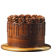 Load image into Gallery viewer, chocolate drip cake, easy cake kits Perth, chocolate buttercream, semi-naked cake