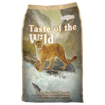 Taste of the Wild Canyon River Formula - Cat food