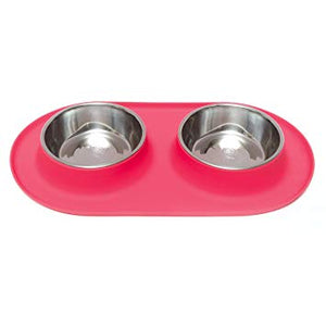 Messy Mutts Silicone Double Feeder XL
