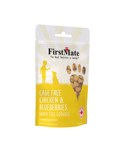 FirstMate Chicken with Blueberry Treats 226g