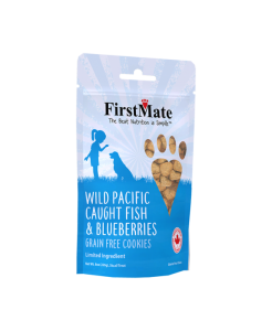 FirstMate Fish with Blueberry Treats 226g