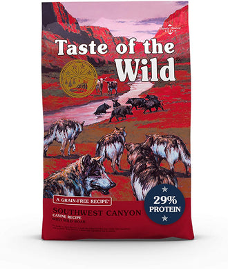 Taste of the Wild Southwest Canyon ADULT Formula with Boar