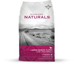 "Diamond Naturals Large Breed Lamb & Rice Puppy ""Holistic"" 40 lbs"